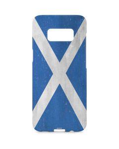 Scotland Flag Distressed Galaxy S8 Plus Lite Case