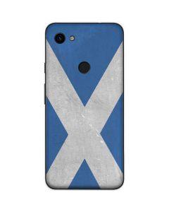 Scotland Flag Distressed Google Pixel 3a Skin