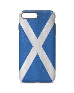 Scotland Flag Distressed iPhone 8 Plus Pro Case