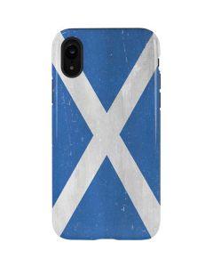 Scotland Flag Distressed iPhone XR Pro Case