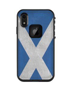 Scotland Flag Distressed LifeProof Fre iPhone Skin