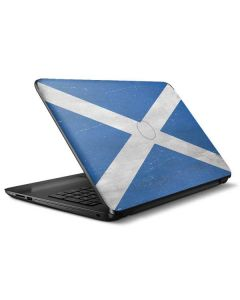Scotland Flag Distressed HP Notebook Skin