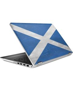 Scotland Flag Distressed HP Pavilion Skin