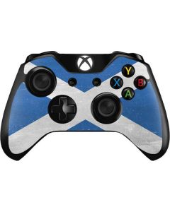 Scotland Flag Distressed Xbox One Controller Skin