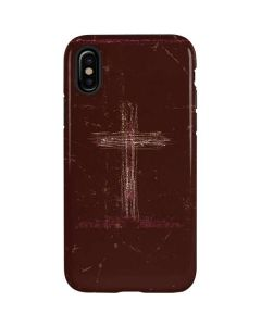 Scratch Cross iPhone XS Pro Case