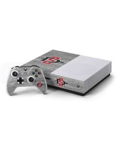 SDSU Aztecs Logo Xbox One S Console and Controller Bundle Skin