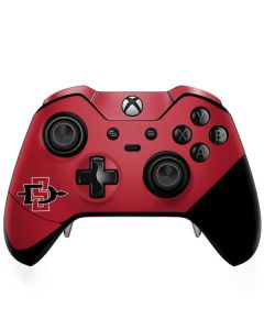 SDSU Logo Xbox One Elite Controller Skin