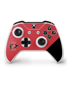 SDSU Logo Xbox One S Controller Skin