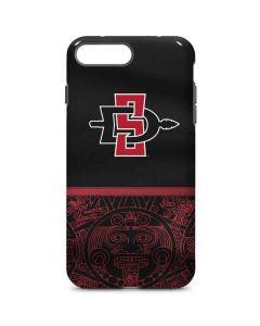 SDSU Tribal Print iPhone 7 Plus Pro Case