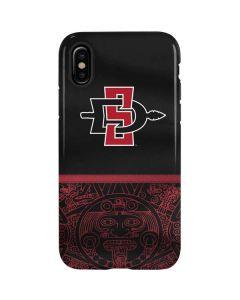 SDSU Tribal Print iPhone XS Pro Case