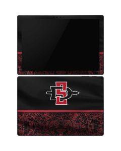 SDSU Tribal Print Surface Pro 6 Skin