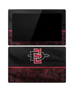 SDSU Tribal Print Surface Pro Tablet Skin