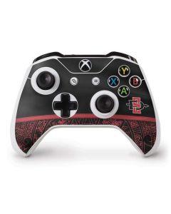 SDSU Tribal Print Xbox One S Controller Skin
