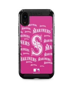 Seattle Mariners - Pink Cap Logo Blast iPhone XR Cargo Case