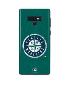 Seattle Mariners- Alternate Solid Distressed Galaxy Note 9 Skin