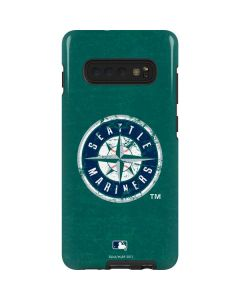 Seattle Mariners- Alternate Solid Distressed Galaxy S10 Plus Pro Case