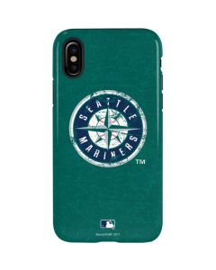 Seattle Mariners- Alternate Solid Distressed iPhone X Pro Case