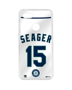 Seattle Mariners Kyle Seager #15 Google Pixel 3 XL Clear Case