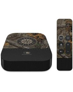 Seattle Mariners Realtree Xtra Camo Apple TV Skin