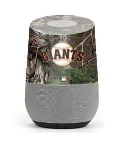 San Francisco Giants Realtree Xtra Green Camo Google Home Skin