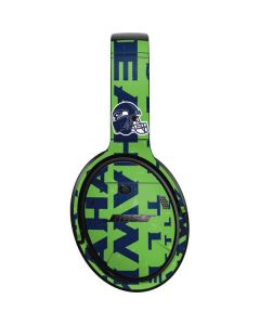 Seattle Seahawks - Blast Green Bose QuietComfort 35 Headphones Skin
