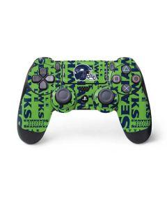 Seattle Seahawks - Blast Green PS4 Controller Skin