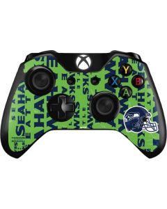 Seattle Seahawks - Blast Green Xbox One Controller Skin