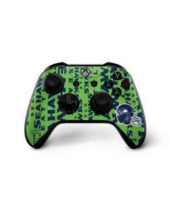 Seattle Seahawks - Blast Green Xbox One X Controller Skin