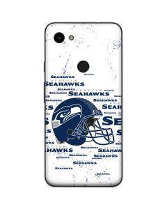 Seattle Seahawks - Blast White Google Pixel 3a Skin