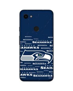 Seattle Seahawks Blue Blast Google Pixel 3a Skin