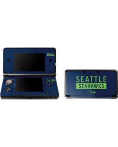 Seattle Seahawks Blue Performance Series 3DS (2011) Skin