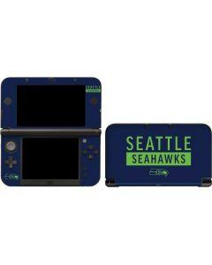 Seattle Seahawks Blue Performance Series 3DS XL 2015 Skin
