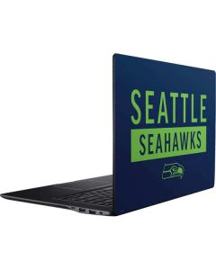 Seattle Seahawks Blue Performance Series Ativ Book 9 (15.6in 2014) Skin