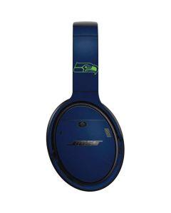 Seattle Seahawks Blue Performance Series Bose QuietComfort 35 II Headphones Skin