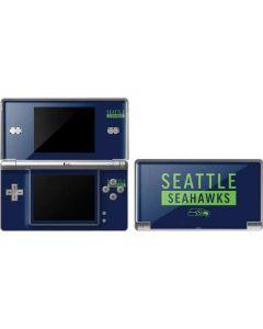 Seattle Seahawks Blue Performance Series DS Lite Skin