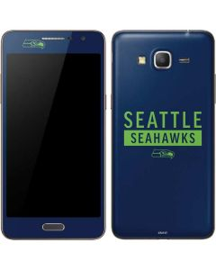 Seattle Seahawks Blue Performance Series Galaxy Grand Prime Skin