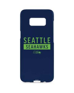 Seattle Seahawks Blue Performance Series Galaxy S8 Plus Lite Case