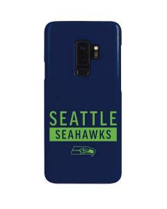 Seattle Seahawks Blue Performance Series Galaxy S9 Plus Lite Case