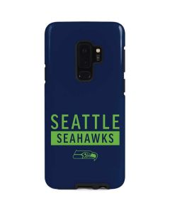 Seattle Seahawks Blue Performance Series Galaxy S9 Plus Pro Case