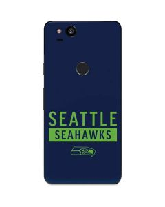 Seattle Seahawks Blue Performance Series Google Pixel 2 Skin