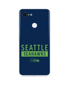 Seattle Seahawks Blue Performance Series Google Pixel 3 Skin
