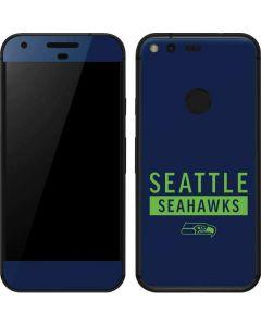 Seattle Seahawks Blue Performance Series Google Pixel Skin
