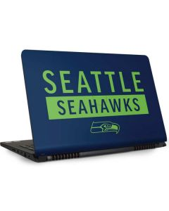 Seattle Seahawks Blue Performance Series Dell Inspiron Skin