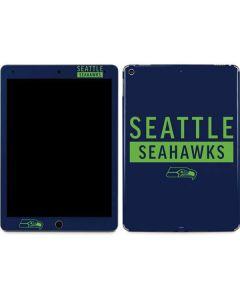 Seattle Seahawks Blue Performance Series Apple iPad Air Skin