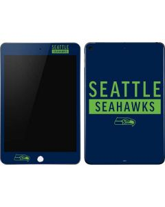 Seattle Seahawks Blue Performance Series Apple iPad Mini Skin