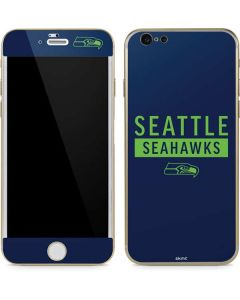 Seattle Seahawks Blue Performance Series iPhone 6/6s Skin