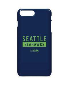 Seattle Seahawks Blue Performance Series iPhone 8 Plus Lite Case