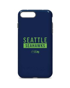 Seattle Seahawks Blue Performance Series iPhone 8 Plus Pro Case