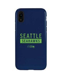 Seattle Seahawks Blue Performance Series iPhone XR Pro Case