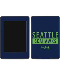 Seattle Seahawks Blue Performance Series Amazon Kindle Skin